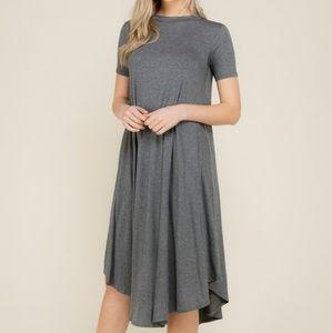 t-shirt swing dress